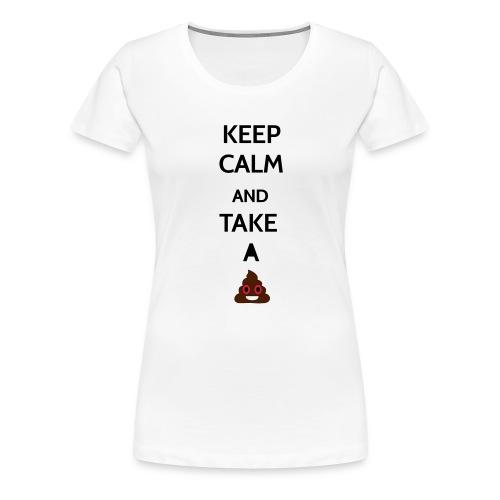Let`s take a shit -shirt - Frauen Premium T-Shirt