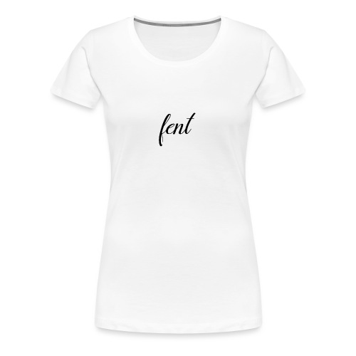 FENT grey t-shirt men - Vrouwen Premium T-shirt