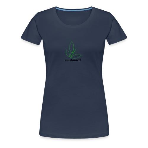 Sustained Sweatshirt - Dame premium T-shirt