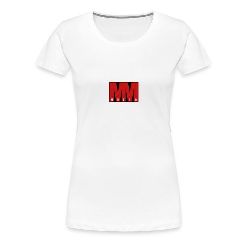 MM Media - Premium-T-shirt dam