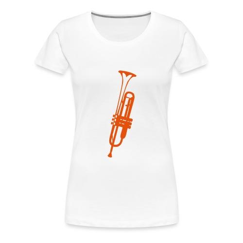 trompette instrument musique 2410 - T-shirt Premium Femme