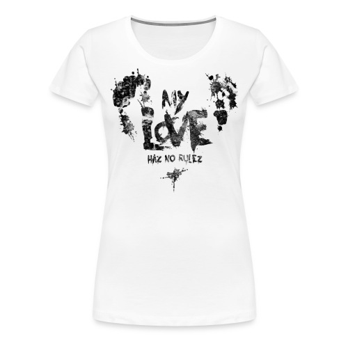 myloveshirt png - Frauen Premium T-Shirt
