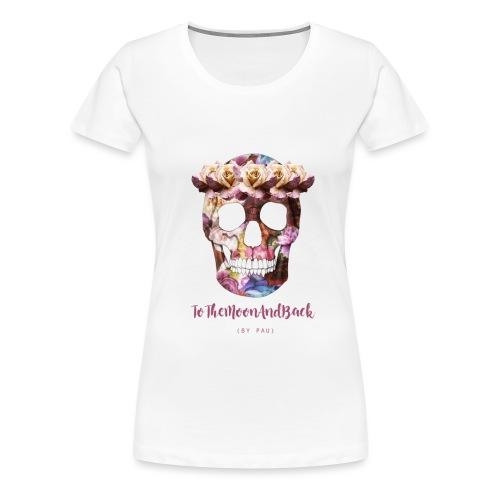 calaverfloreadafinal_4000 - Camiseta premium mujer