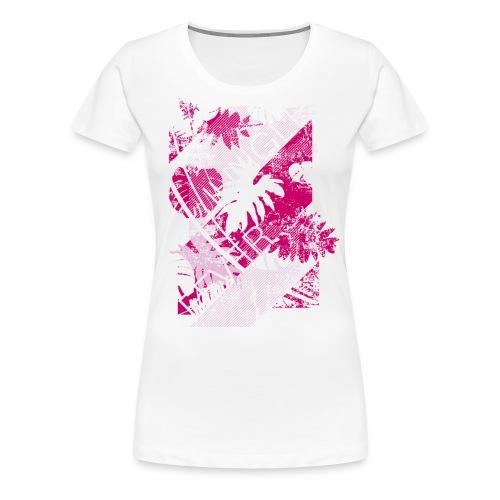Jungle Fever Print - Maglietta Premium da donna