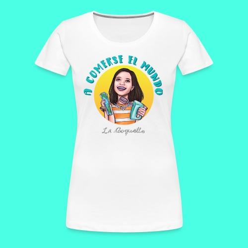 La Cooquette Mundo - Camiseta premium mujer
