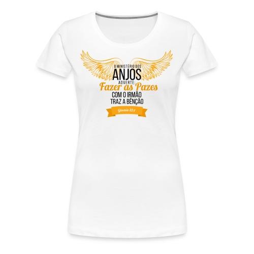 Angels Peas - Women's Premium T-Shirt