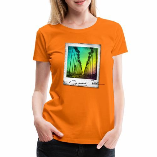 Summer Time - Women's Premium T-Shirt