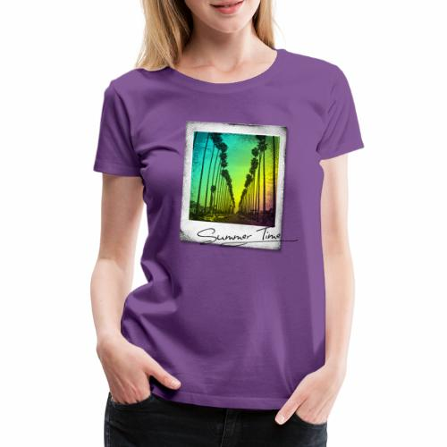 Summer Time - Women's Premium T-Shirt