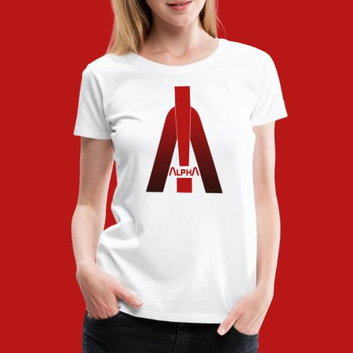 ALPHA - Winner wins! - Frauen Premium T-Shirt