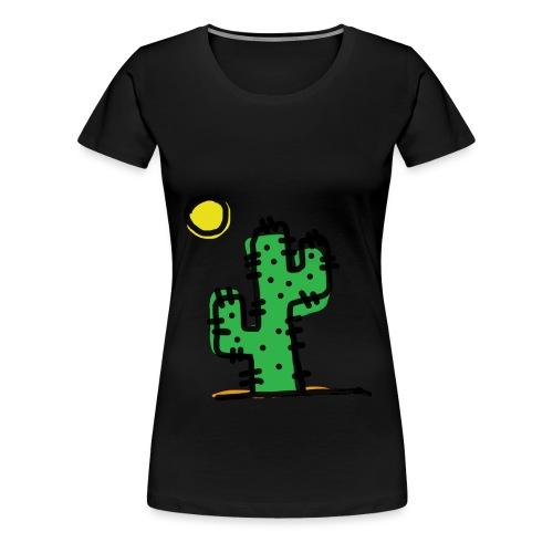 Cactus single - Maglietta Premium da donna