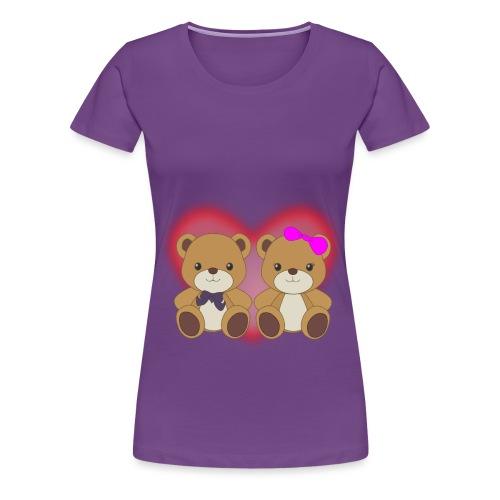 Orsetti con cuore - Maglietta Premium da donna