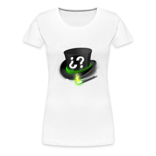 time for magic box png - Women's Premium T-Shirt