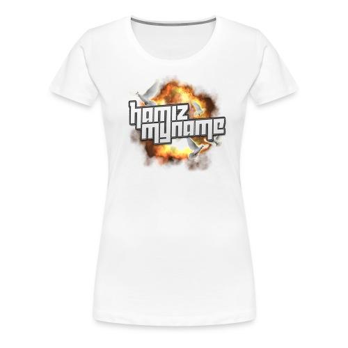 ham shirt logo 2 png - Women's Premium T-Shirt