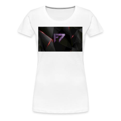 f7Logo - Women's Premium T-Shirt
