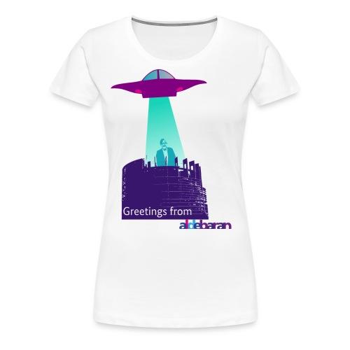 Greretings from aldebaran - Frauen Premium T-Shirt