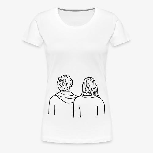 HEADY WHISPERS - T-shirt Premium Femme