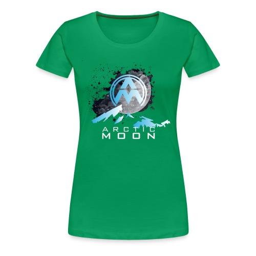 1whitetext png - Women's Premium T-Shirt