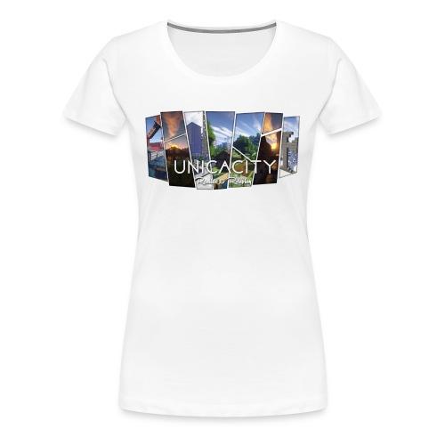 BannerTransparent - Frauen Premium T-Shirt