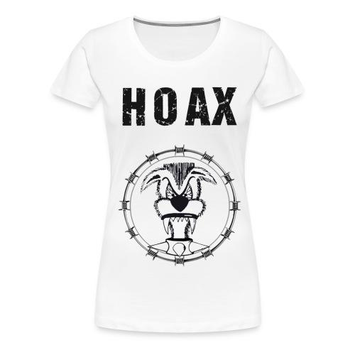 Aufdruck Shirt 1 Kopie png - Frauen Premium T-Shirt