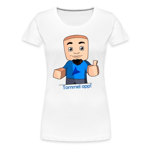 tskjorte tommel opp png - Premium T-skjorte for kvinner