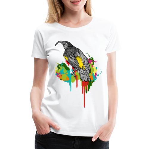 shaslberger hawaii mamo finaldunkel - Frauen Premium T-Shirt