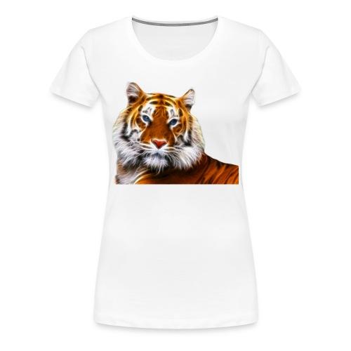 Fractalius Tiger - Vrouwen Premium T-shirt
