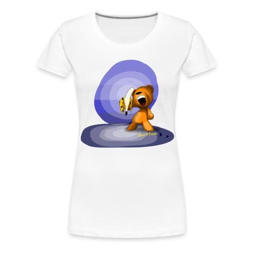 Bear Banana - T-shirt Premium Femme