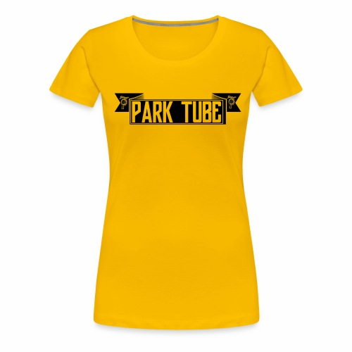 ParkTube Banner schwarz - Frauen Premium T-Shirt