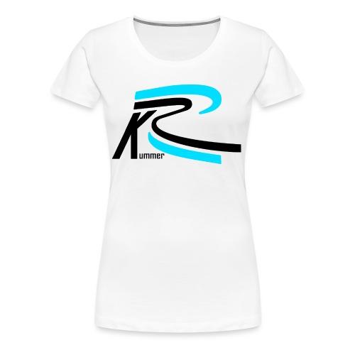 Roland Kummer Logo Schwarz - Frauen Premium T-Shirt