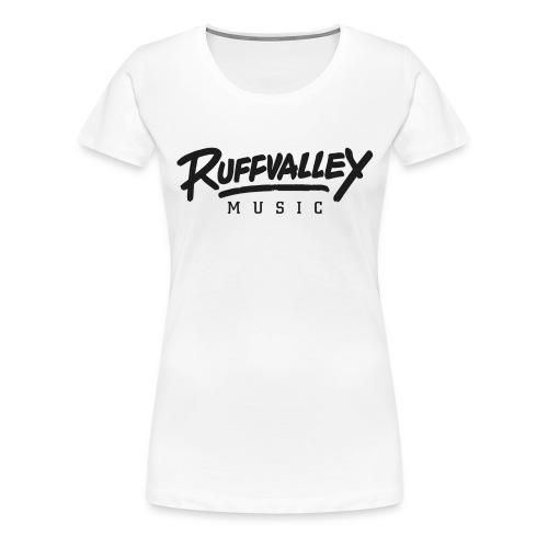 Ruffvalley Trans Black png - Frauen Premium T-Shirt