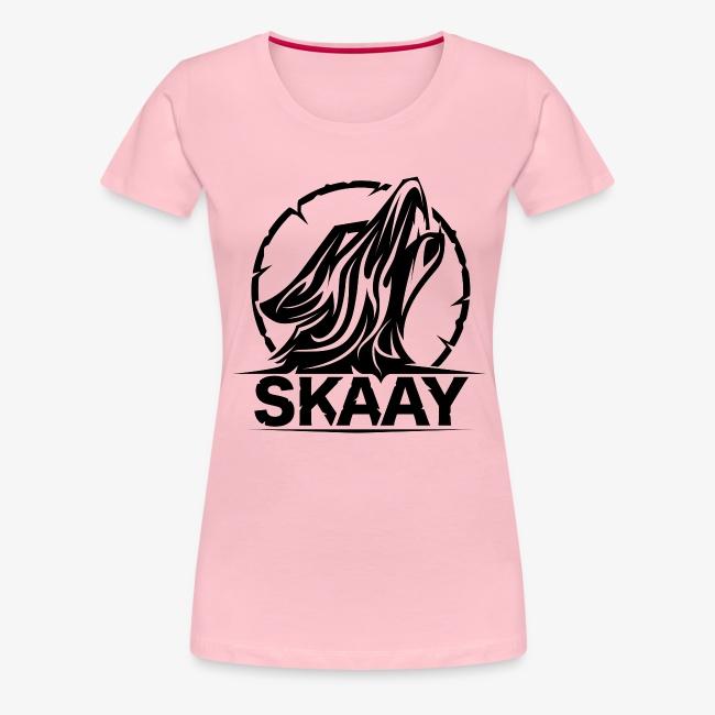 Skaay Logo Schwarz GeniyArts png