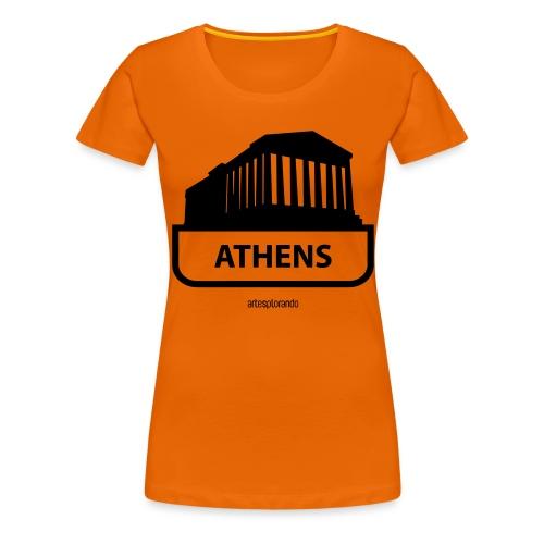 Atene - Maglietta Premium da donna