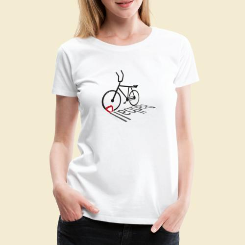 Radball   Shadow - Frauen Premium T-Shirt
