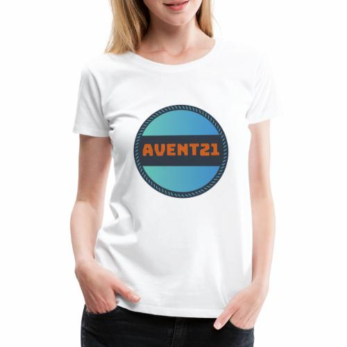 avent21 logo - Women's Premium T-Shirt