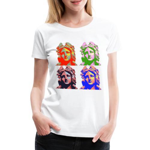 Germania Popart Groß - Frauen Premium T-Shirt