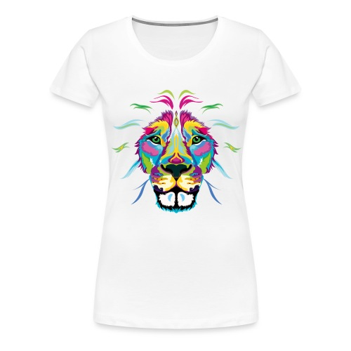 Lion - Women's Premium T-Shirt