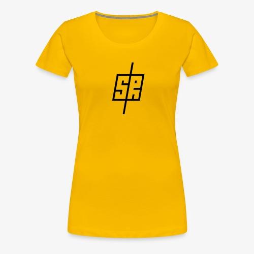 Black Logo (No Background) - Women's Premium T-Shirt