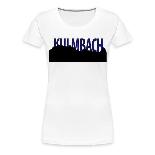 skyline_ku_schrift - Frauen Premium T-Shirt