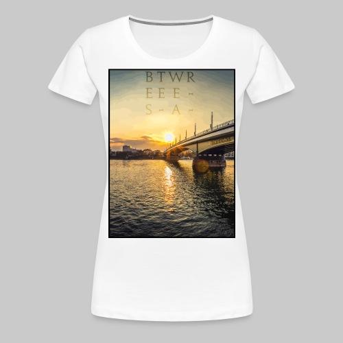 #Bestewear - BN City Day (Front/Back Print) - Frauen Premium T-Shirt