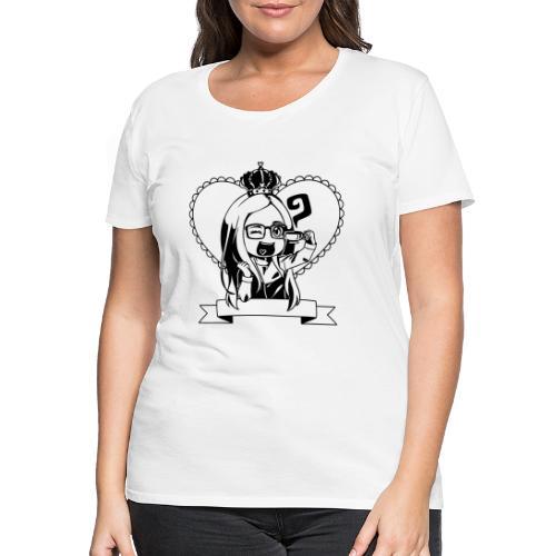 Kaja i tryk - Dame premium T-shirt