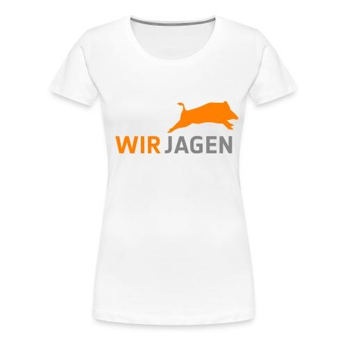 alleszusammen Kopie png - Frauen Premium T-Shirt