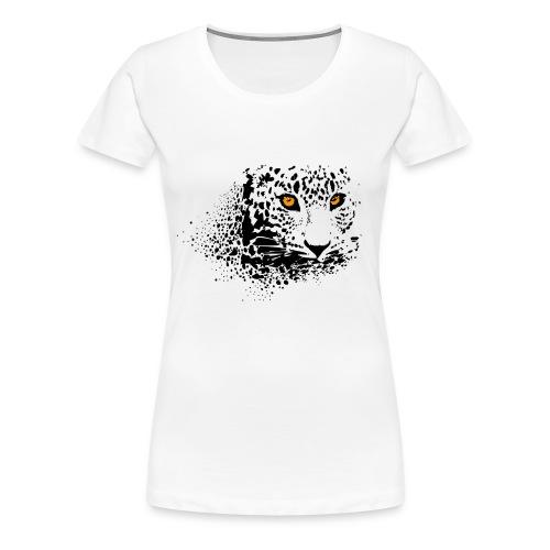 regard félin - T-shirt Premium Femme