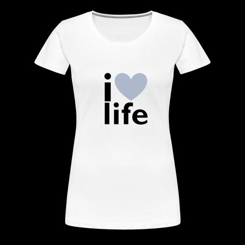iLOVE clothing range - Women's Premium T-Shirt