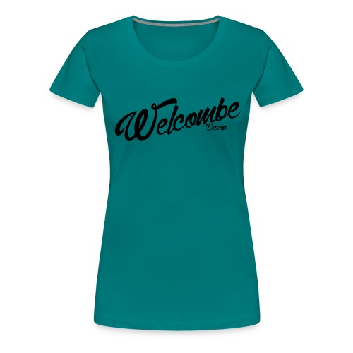 Welcombe - Devon - Women's Premium T-Shirt