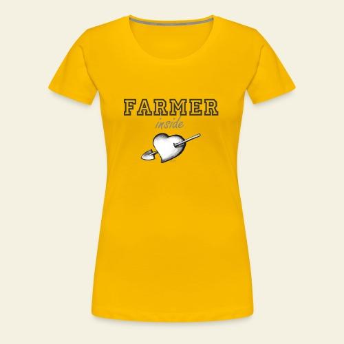 Hearth farmer - Maglietta Premium da donna
