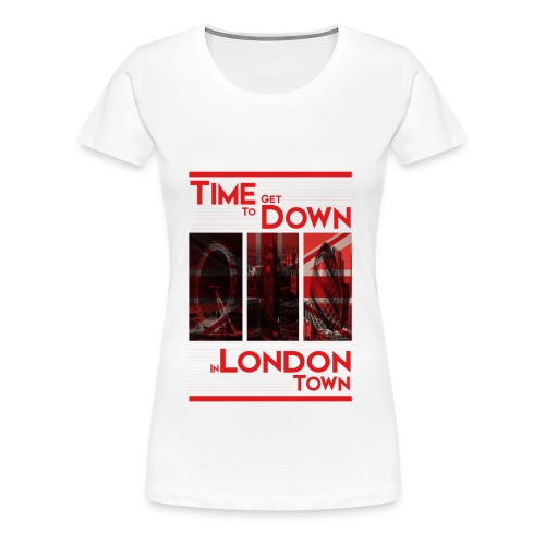 Down In.. (Red) By HXG - Women's Premium T-Shirt