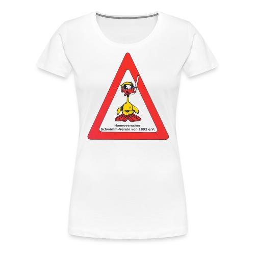 Tauchen Logo - Frauen Premium T-Shirt