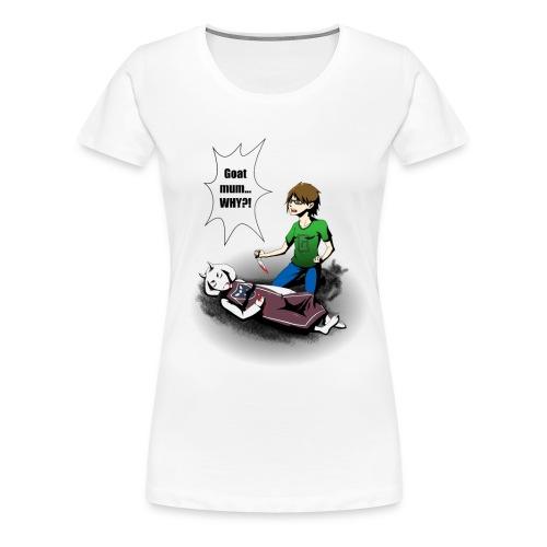 Gruntcatcher undertale png - Women's Premium T-Shirt