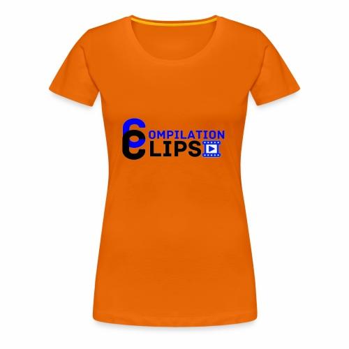 Official CompilationClips - Women's Premium T-Shirt