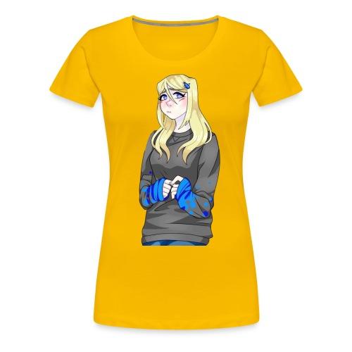 Sad-chan v2 - Women's Premium T-Shirt